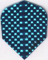 Bright Blue Dimplex Dart Flights: 3 per set