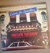 HELEN REDDY - Live In London 1798 Vinyl LP G/F Double LP