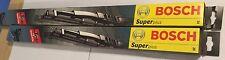 """24"""" & 20"""" BOSCH SUPER PLUS Schermo Anteriore Spazzole COPPIA LEXUS GS 300 T3 Qf9563"""