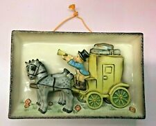 Goebel Hummel   The Mail Is Here Wall Plaque *Brand New* Rare Vintage Nos Usa