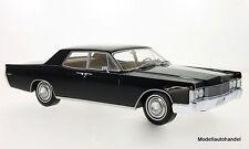 Lincoln Continental sedán, negro, 1968 1:18 bos