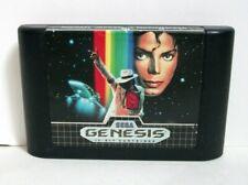 Michael Jackson's Moonwalker (Sega Genesis) Good Label Authentic Game Tested