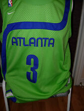 Atlanta Hawks #3 Shareef Abdur Rahim Retro Jersey Size Extra Large XL NBA Retro