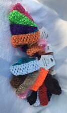 """Lot Of 25 Piece 1"""" Baby,Toddler,Girl Pageant Elastic Headband Assorted Lot"""