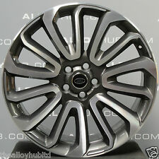 """GENUINE LAND ROVER DIAMOND CUT 22""""INCH STYLE 16 707 ALLOY WHEELS X4 DISCOVERY 5"""