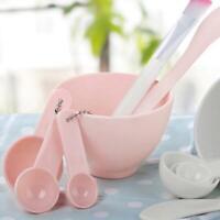 Makeup Beauty DIY Facial Face Mask Bowl Brush Spoon Mixing Stick Tool 4pcs/Kit