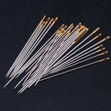 16pcs/set Hand Sewing Needles Kit Household Leather Canvas Carpet Repair Tool