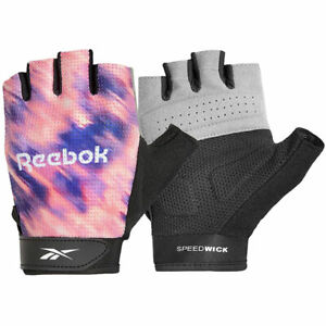 Reebok Women's Fitness Training Gloves Weight Lifting Fingerless Gym RAGB-14623