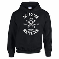 SKY FORGE WHITE RUN INSPIRED HOODIE SKYRIM FORGE GAMING