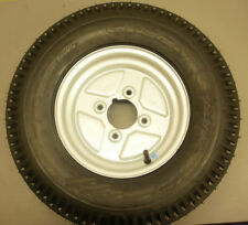 10 inch Trailer wheel and 145/80/10 Tyre 4 inch PCD fits Most English Trailers