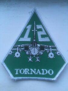 RAF Tornado GR4 12 Squadron patch. Genuine squadron patch.