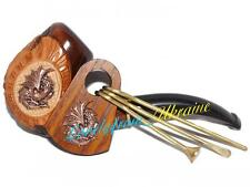 * Dragon Set * DIFFICULT Hand Carved Tobacco Smoking Pipe Pipes + CLEANING TOOLS