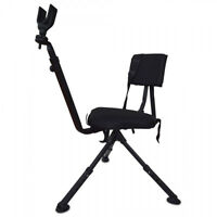 360 Rotate Ground Hunting Shooting Chair Bench Blind Rifle Rest Target Gun Seat