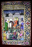 Shah Jahan Visits The Shrine Of Khwaja Muinuddin Chisti At Ajmer Painting