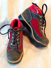 Timberland Boots Red & Blue Size 4.5M