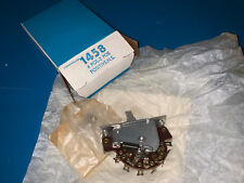 Centralab 1458 Switch, 4 Pole, 2 Position, NOS, Vintage, CRL1458