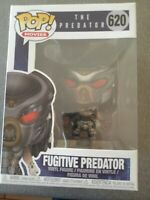 "Funko PoP Movies The Predator - Fugitive  Predator 4"" Vinyl Figure #620~NIB"