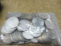 ANGEBOT , 100 x 5 DM Silber ADLER, Silberadler , Investorenpaket