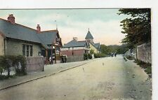 STATION ROAD, CARDROSS: Dunbartonshire postcard (C3829).
