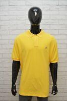 Maglia Uomo RALPH LAUREN Taglia Forte Polo Maglietta Manica Corta Shirt Cotone