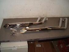 Santee Slash Cut Exhaust for Yamaha XV1600 Road Star