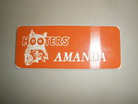 Hooters Authentic Uuniform Name Tags Previous Hooters Girls Choose 12 Names