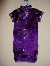Girls Asian Silk Dress US seller
