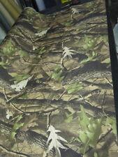 10 M de 60 in (approx. 152.40 cm) de ancho de tela Impermeable Camuflaje Bosque De Luz