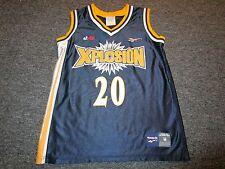 Xplosion Abl Basketball Jersey Shelly Sheetz Cu Standout M Reebok Rare!