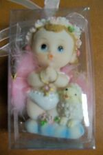 Baby Angel Praying While Kneeling With Baby Sheep! Lot Of 12 New In Box