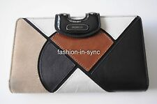 MIMCO Black Mix Travel Leather Wallet BNWT RRP $299.00