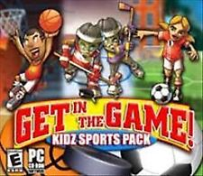 Get in the Game! Kidz Sports Pack (PC GAMES) DISC ONLY NO CASE NO ART EXCELLENT