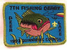 Boy Scouts - 1993 Quinnipiac Council - Fishing Derby @ Deer Lake patch