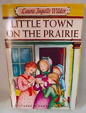 LITTLE TOWN ON THE PRAIRIE (Paperback, 1969) By Laura Ingalls Wilder - Good cond