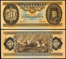 HUNGARY 50 FORINT 1969 P170b UNCIRCULATED