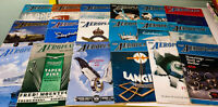 Lot of 18x The Aeroplane Rare 1940s-1960s Vintage Flight Magazines!