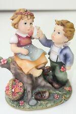 Montefiori Figurine Girl and Boy in Love Model46157M