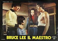 CINEMA-fotobusta BRUCE LEE IL MAESTRO