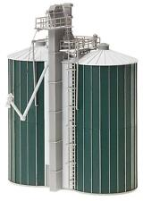 NEW ! HO scale Faller DOUBLE SILO for Farm Diorama : Model Detail KIT # 120260