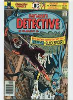 Detective Comics #464 VF-  Batman Black Spider  DC Comics  CBX1U