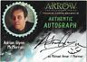 Arrow Season 3 Auto Autograph Card Adrian Glynn McMorran Murmur AGM