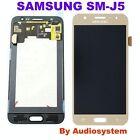GLS: DISPLAY LCD+TOUCH SCREEN ORIGINALE per SAMSUNG GALAXY J5 SM-J500FN ORO GOLD