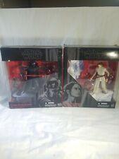 Star wars black series kylo ren  and Rey starkiller base new in box