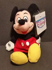 The Disney Store Bean Bag Plush Mickey Mouse