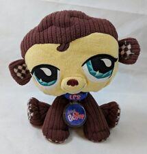 "Littlest Pet Shop Monkey Plush 9"" Stuffed Animal"