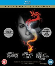 The Girl Who... Millennium Trilogy  Extended Versions  [Blu-ray]  Digipak