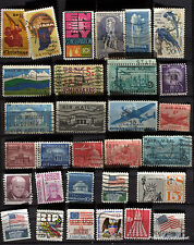 USA  LOT DE  TIMBRES OBLITERES NON TRIES VOIR PHOTO  82M23