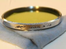 Extremely rare Vintage Heliopan filter ZEISS GLASS, Pre-mass production, 58mm