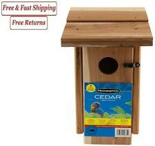 Pennington Cedar Bluebird Wild Bird House, 1 unit, Made of Cedar Wood