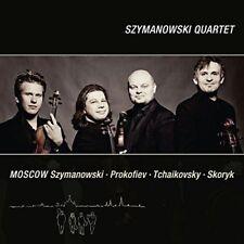 Szymanowski Quartet - Moscow Szymanowski Prokofiev Tchaikovsky Skoryk [CD]